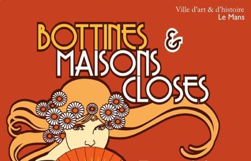 Affiche  Bottines et maisons closes