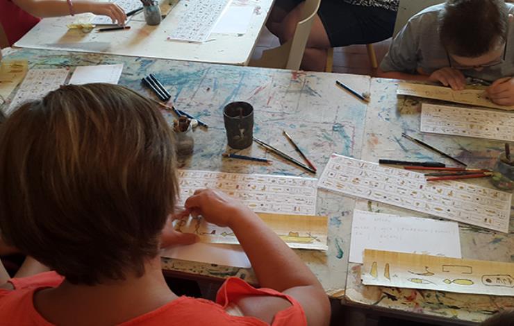 Atelier hiéroglyphes 2