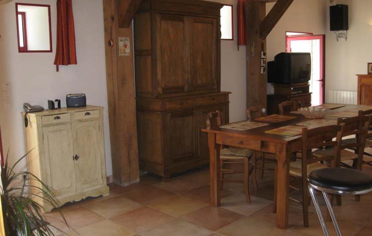 Gîte les Marais cuisine