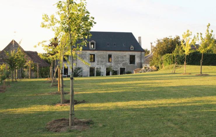 Facade maison coté jardin