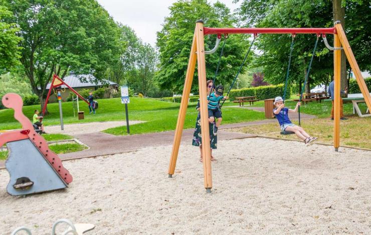 Camping de l'Hippodrome de Sablé - Jeux pour enfants