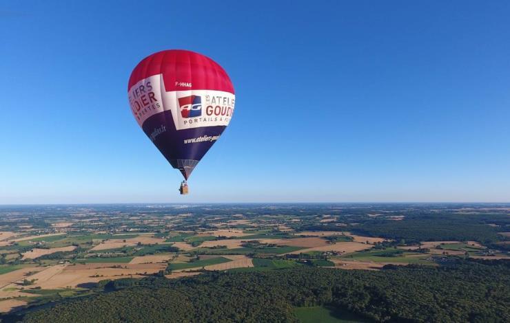 La sarthe en montgolfière avec Le Mans Montgolfière